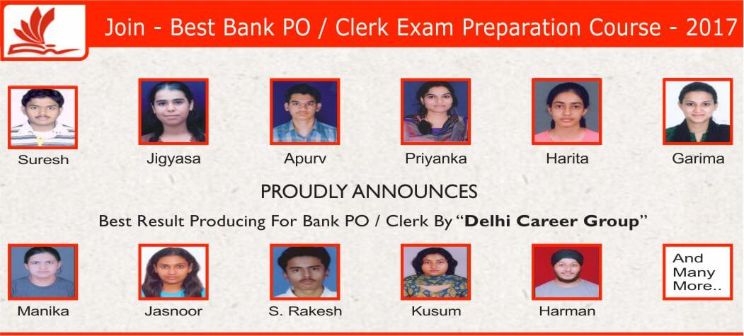Bank PO Coaching Institutes In Delhi