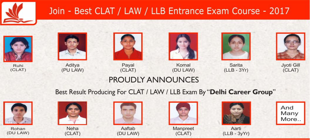CLAT Coaching Institutes In Delhi